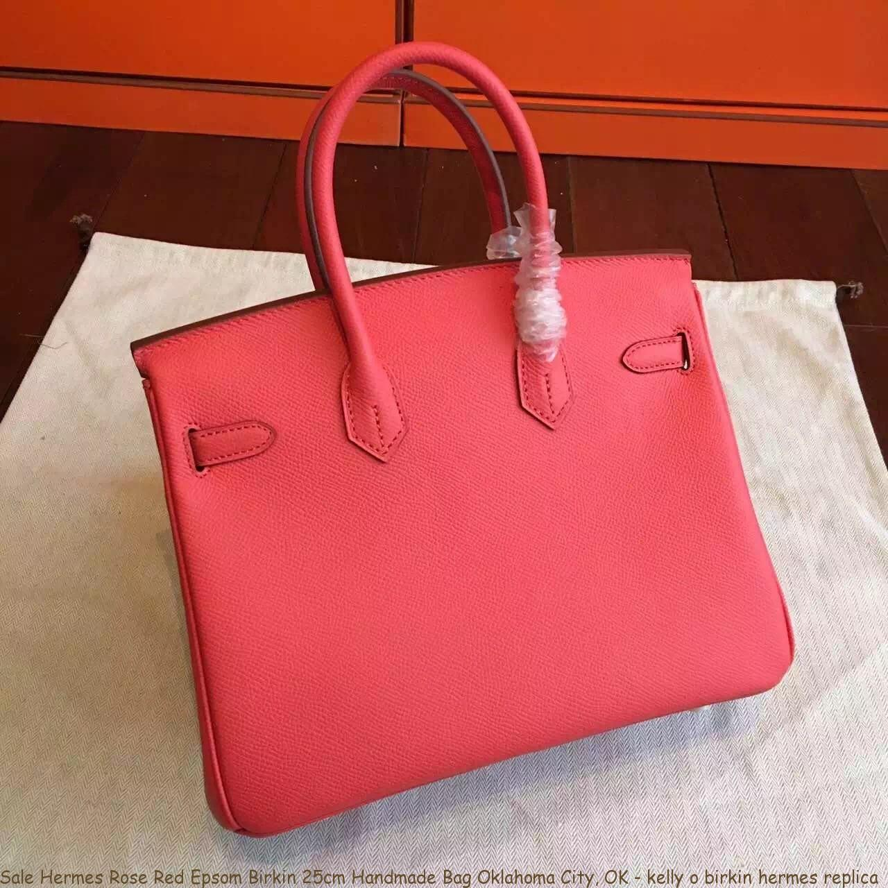 00d9e63e96 Sale Hermes Rose Red Epsom Birkin 25cm Handmade Bag Oklahoma City ...